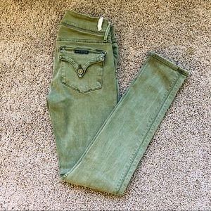 Hudson Jeans Green Jeggings